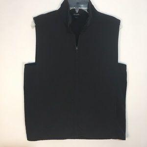 Eileen Fisher Black Nylon Vest